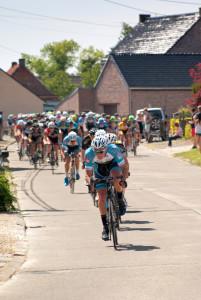 lead cyclist