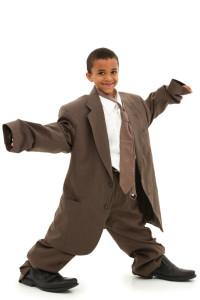 suit too big