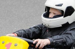 Kiddie race car