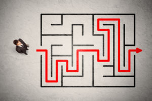 Exit Planning Map Maze