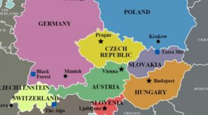 Central Europe Map History Begets Attitudes